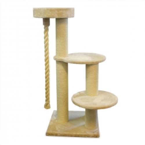 kratzbaum maine coon 4 grau bis 175 cm heimtier shop. Black Bedroom Furniture Sets. Home Design Ideas